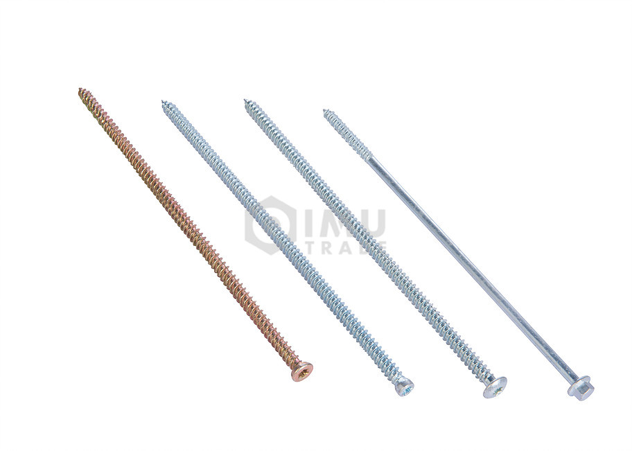 Concrete Screws And Hi-Low Thread with Cutting Line