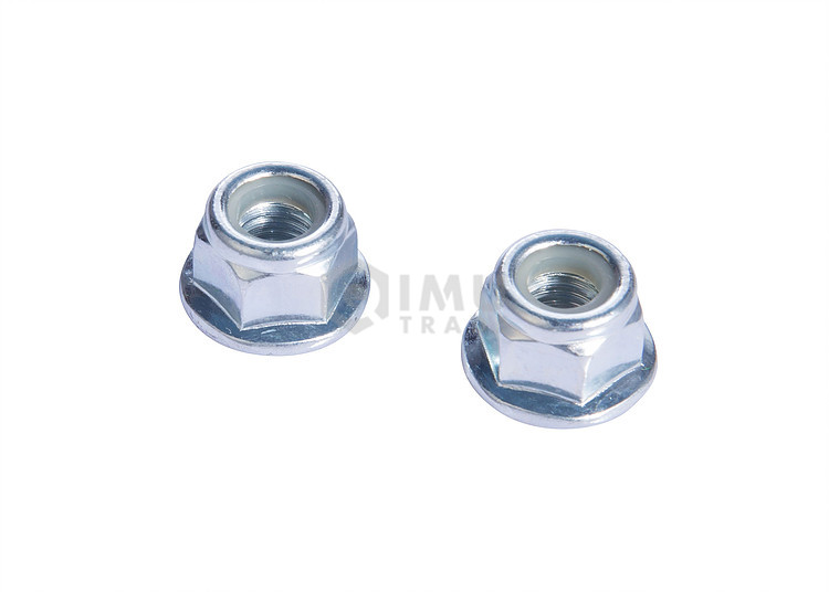 Custom High Precision Serrated Flange Lock Nuts