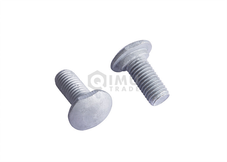 High Tension Hot Dip Galvanized Guardrail Bolt