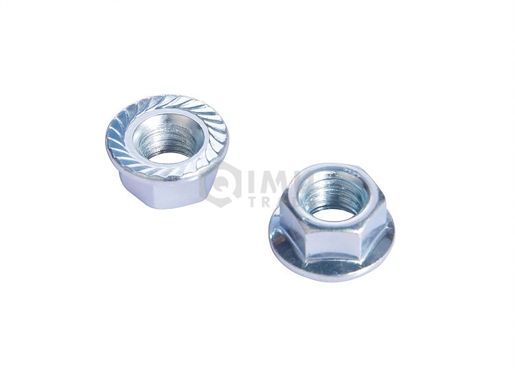 Cheap Price Zinc Plated Hex Flange Nuts