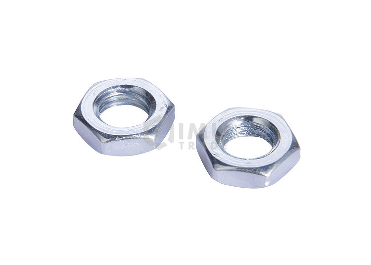 Reasonable Price Zinc Plated Hex Thin Jam Nuts