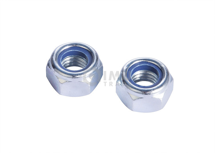 Professional Carbon Steel Nylon Insert Lock Nuts