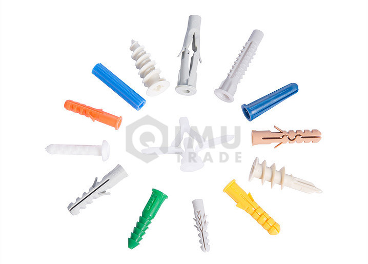 The Best Quality Grey And White Plastic Anchors