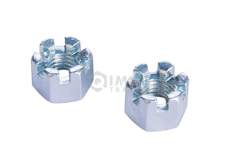 Custom High Precision Stainless Steel Slotted Nuts