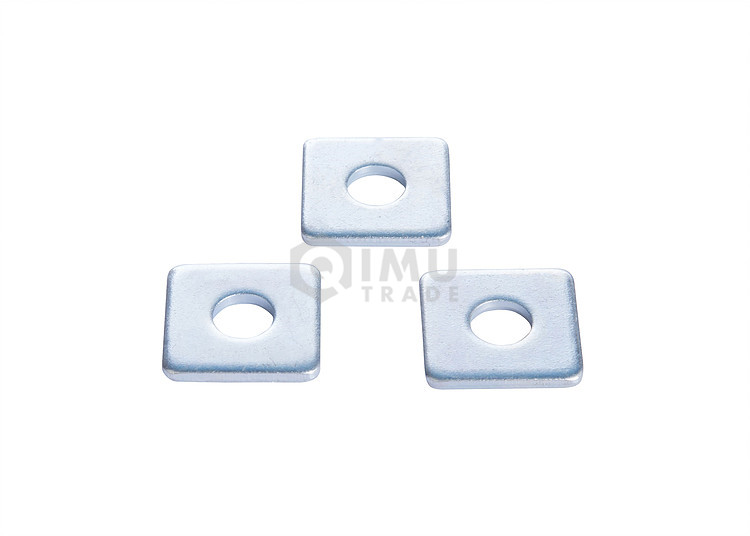Custom Flat Stainless Steel Square Flat Washer