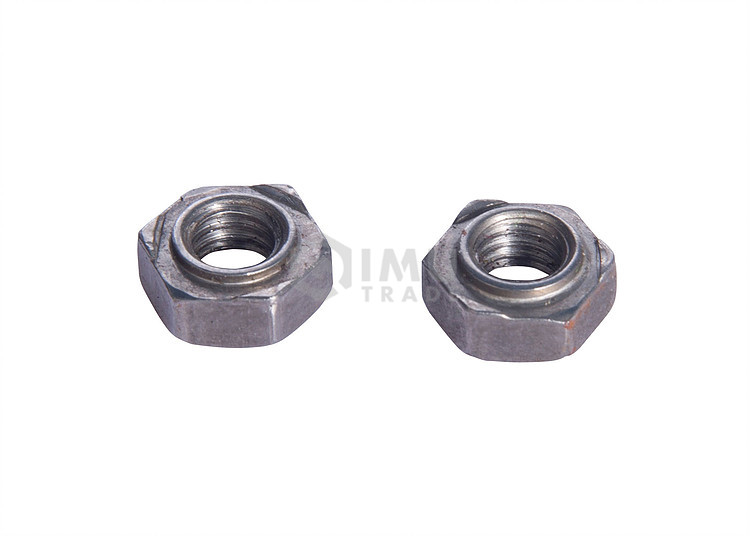 Cheap Price Hexagon Zinc Plated Welding Nuts