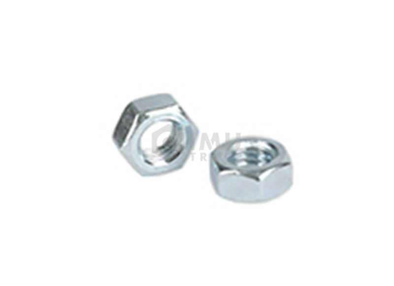 High Quality Carbon Steel Zinc Plated Hex Nut