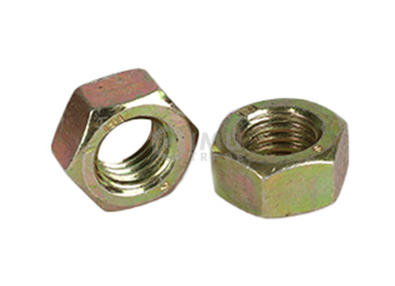 Quality Guarantee Strong Yellow Zinc Plated Hex Nut
