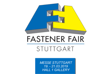 2019 Stuttgart, Germany International Fasteners Exhibition